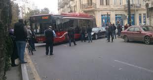sərnişin avtobusu qəzaya düşüb