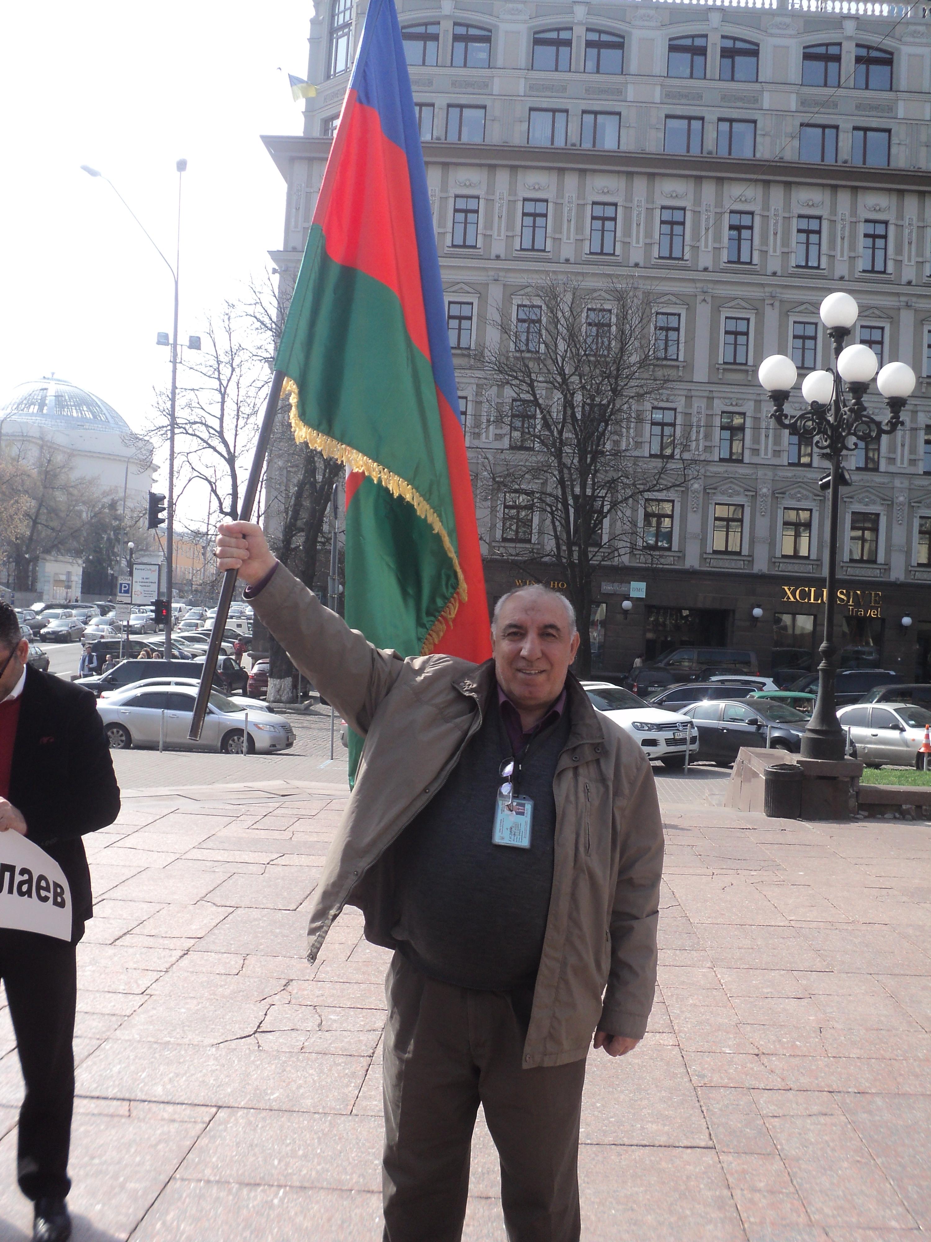 Ukrayna-Azerbaycan-Bayraq