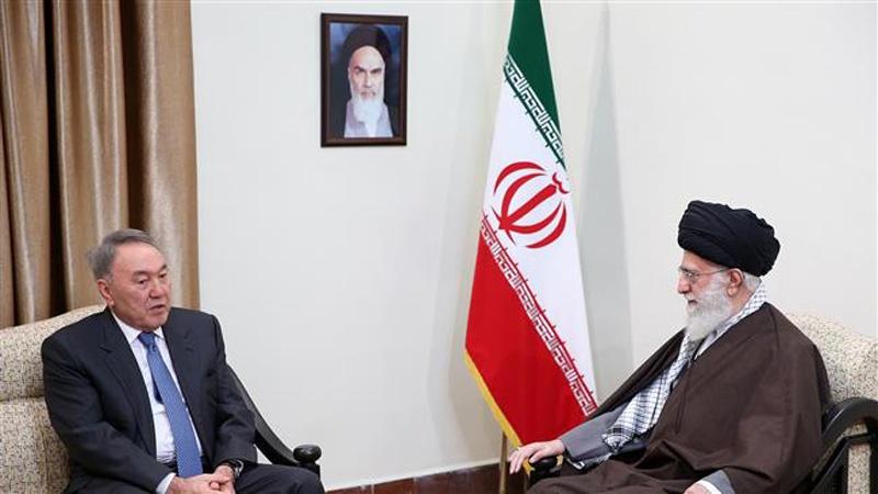 nazarbayev iran