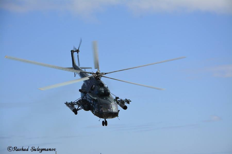 Hakim və polisləri daşıyan helikopter qəzaya uğradı -