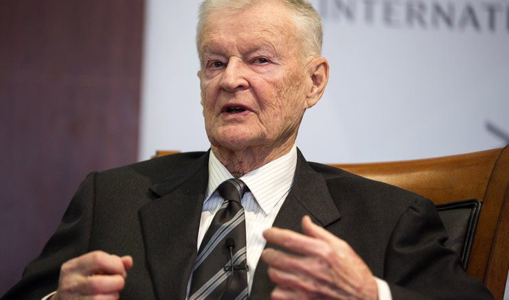 Former U.S. National Security Advisor, Zbigniew Brzezinski, speaks at a forum hosted by the Center for Strategic and International Studies in Washington, March 9, 2015.   REUTERS/Joshua Roberts (UNITED STATES - Tags: POLITICS)