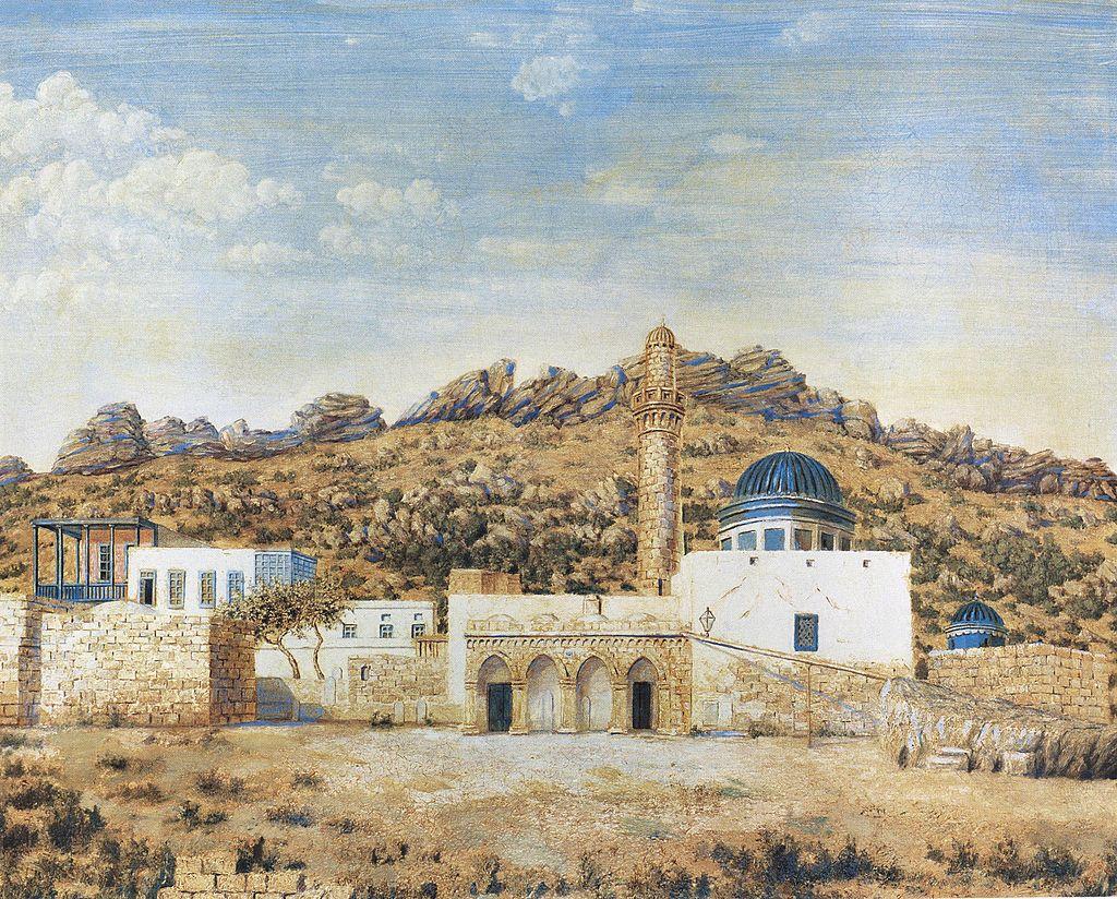 Bibi-Eybat_mosque_by_Huseinzade