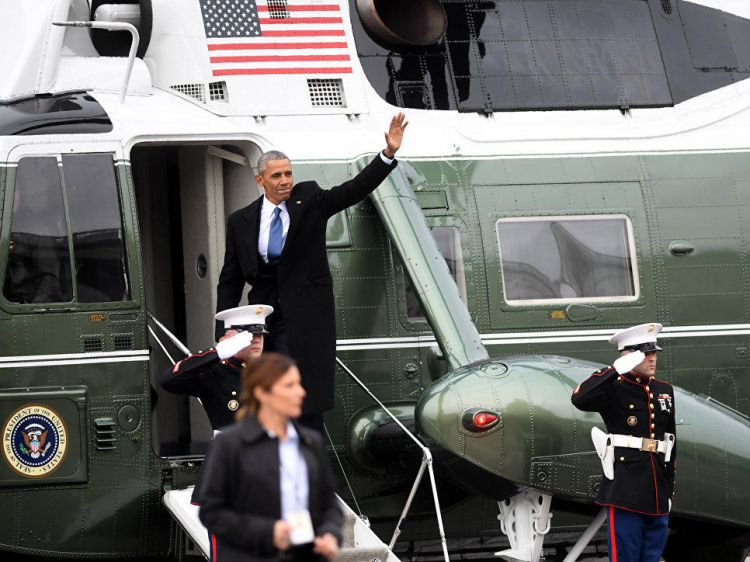Obama end
