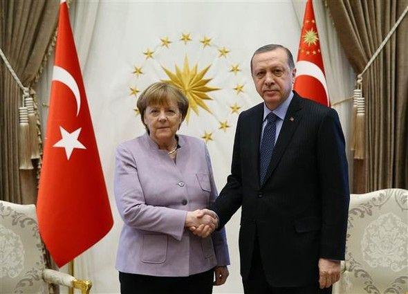 Merkel Ərdoğan