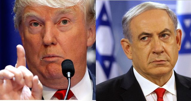 Tramp Netanyahu