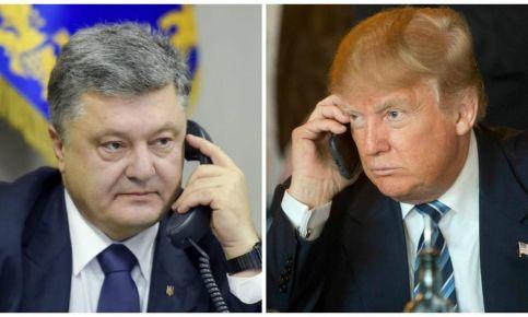 Tramp vs Poroşenko