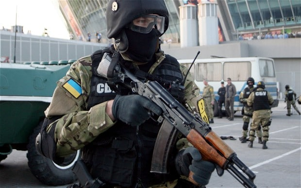 Ukranian special force
