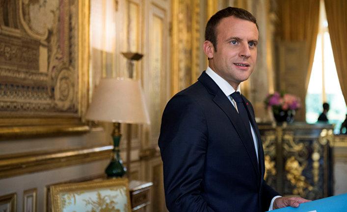Fransa prezidenti Makron Suriya məsələsində ABŞ-a arxa çevirir: