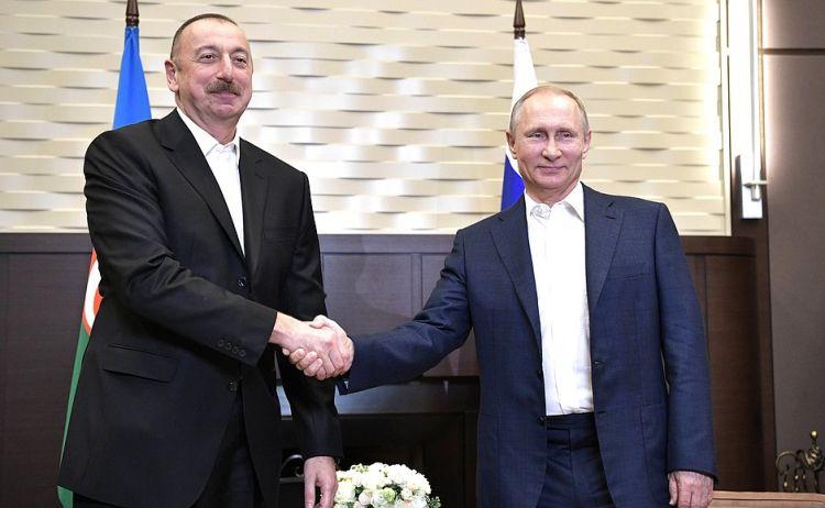 Prezident İlham Əliyev Vladimir Putinə zəng vurub –Rusiyanın dövlət başçısını təbrik edib