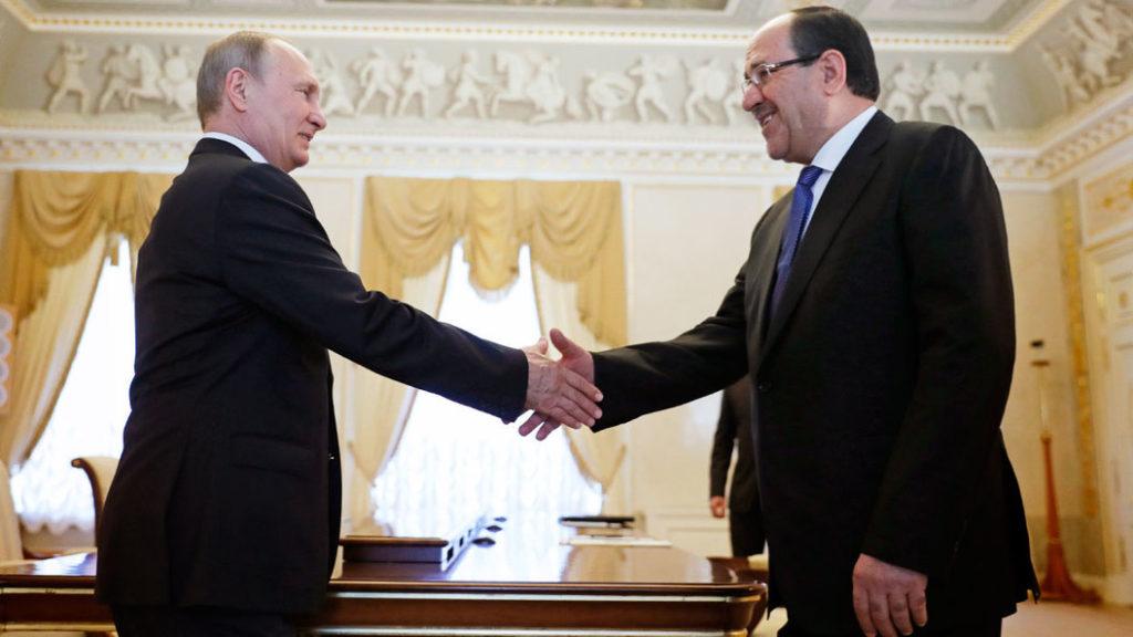 İraq vitse-prezidenti indi də Rusiyanın ətəyindən yapışır: