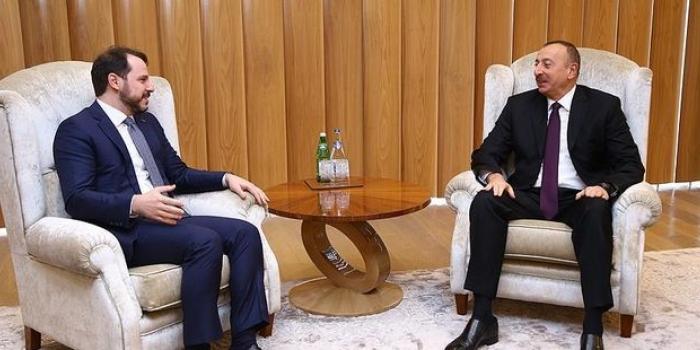 Prezident Türkiyənin enerji və təbii sərvətlər naziri ilə görüşdü –