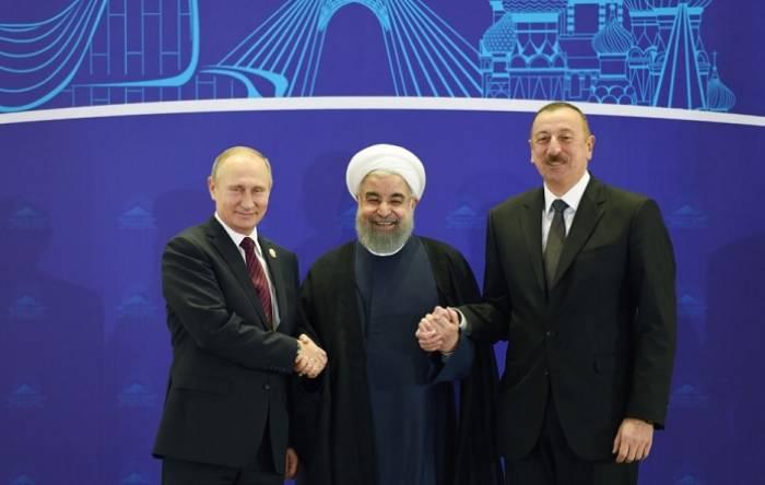 Rusiya, İran, Azərbaycan prezidentlərinin Tehran görüşü: