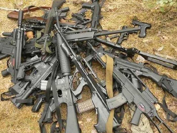 İŞİDbu ölkələrin silahlarından istifadə edib