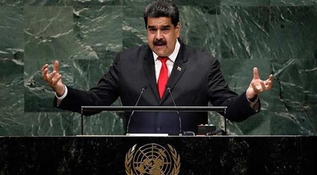 """Maduro:""""Kim ki, danışıqları istəmir, yəqin nədənsə qorxur"""""""