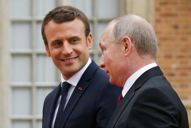 Makron bu dəfə Putinə zəng etdi -