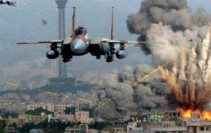 Beynəlxalq koalisiya Suriyanı bombalamağa başladı –