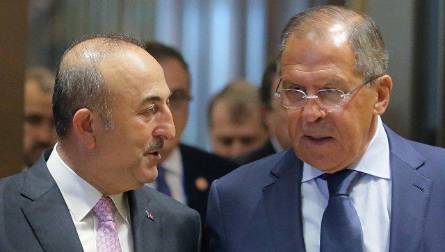 Türkiyə və Rusiya XİN başçıları görüşüblər –