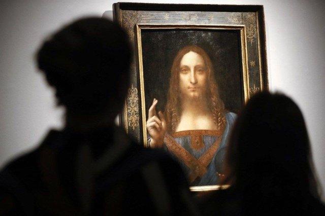Da Vinçinin itən tablosu… –Səudiyyə şahzadəsinin yaxtasında tapıldı