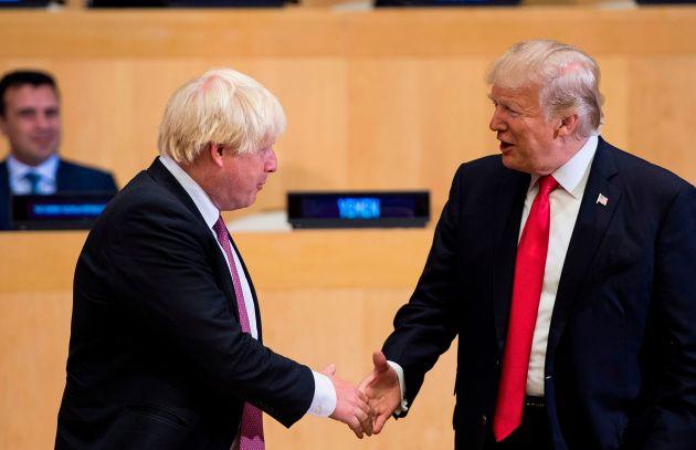 Tramp və Boris Conson arasında telefon danışığı: