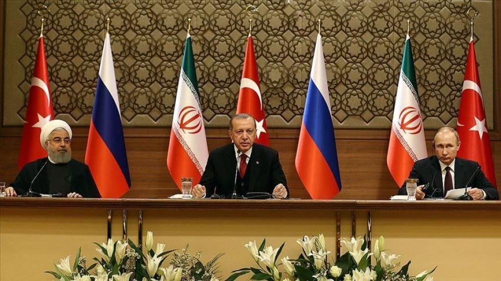 Rusiya, İran və Türkiyə prezidentlərinin üçtərəfli Sammiti başa çatıb-