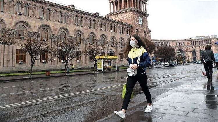 Ermənistanda son sutkada 415 nəfərdə koronavirus aşkarlanıb –