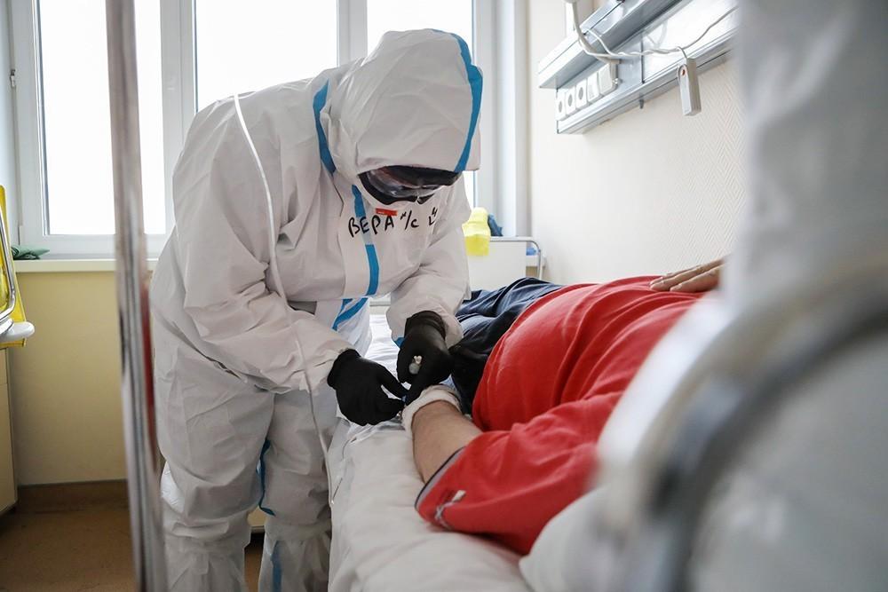 Moskvada bir gündə koronavirusdan 55 nəfər ölüb