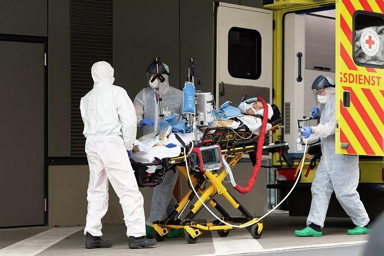 Almaniyada koronavirus: Son sutkada 859 nəfər ölüb