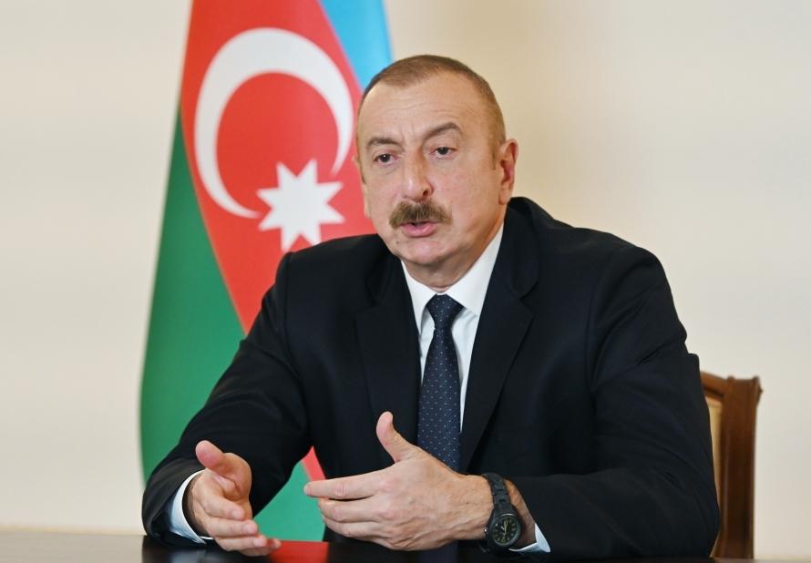 Prezident İlham Əliyev Fransa mətbuatına danışdı:
