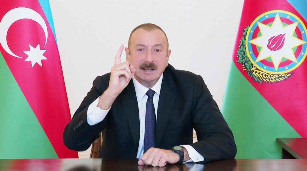Prezident İlham Əliyev Ermənistana xəbərdarlıq etdi: